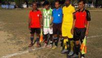 ফুটবলার অন্বেষণ টুর্নামেন্ট : দরবস্ত ও ফতেপুর ইউনিয়ন (বি) খেলা ড্র