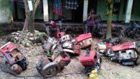 ভোলাগঞ্জ পাথর কোয়ারিতে বোমা ও শ্যালো মেশিন ধ্বংস