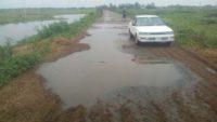 সুনামগঞ্জ-আউশকান্দি-ঢাকা মহাসড়কে যান চলছে ঝুঁকি নিয়ে