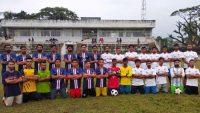 থিয়েটার সুনামগঞ্জ-উদীচী সুনামগঞ্জের প্রীতি ফুটবল ম্যাচ