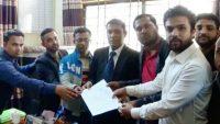 সুনামগঞ্জে যোগদান নিশ্চিত করতে সহকারী শিক্ষকদের স্মারকলিপি