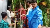 দিরাইর চরনারচর ইউনিয়নে ১২টি গ্রামে খাদ্যসামগ্রী বিতরণ
