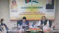 HANDING OVER BROAD GAUGE LOCOMOTIVES TO BANGLADESH