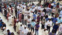 আজিজ আহমদ সেলিমের দাফন সম্পন্ন : চোখের জলে শেষ বিদায়