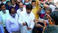 সুনামগঞ্জ পৌরসভার পানি শোধনাগার উদ্বোধন করলেন পরিকল্পনা মন্ত্রী