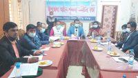 নবীগঞ্জ উপজেলা আইনশৃঙ্খলা কমিটির মাসিক সভা অনুষ্ঠিত
