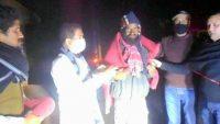 সুনামগঞ্জে যুবলীগের পক্ষে শীতবস্ত্র বিতরণ করলেন চপল