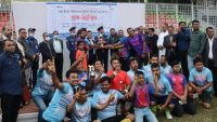 মাহা-ইমজা ফুটবলে চ্যাম্পিয়ন সংবাদ রানারআপ একাত্তরের কথা