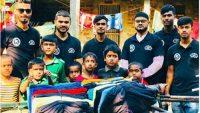 জগন্নাথপুরে ৪ শতাধিক পরিবারের মধ্যে শীতবস্ত্র বিতরণ