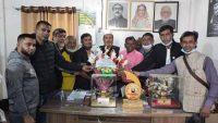 সাংসদ মিলাদের সঙ্গে নবীগঞ্জ প্রেসক্লাব নেতৃবৃন্দের মতবিনিময়