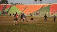 সিলেটে সাংবাদিকদের ফুটবলযুদ্ধ শুরু বৃহস্পতিবার