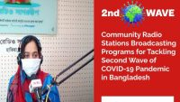Community Radio Broadcasting for Tackling 2nd Wave of COVID-19