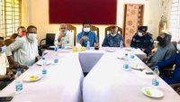 নবীগঞ্জ উপজেলা প্রশাসনের সঙ্গে ব্যবসায়ীদের মতবিনিময়