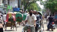 সুনামগঞ্জে প্রথমদিন লকডাউন ছিল ঢিলেঢালা : স্বাস্থ্যবিধি মানছেনা অনেকেই
