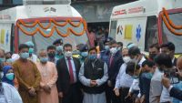 Handing over of Life Support Ambulances at Sylhet